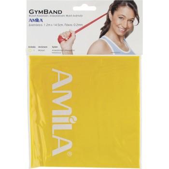 Λάστιχο Αντίστασης AMILA GYMBAND 1.2m Ultra Light