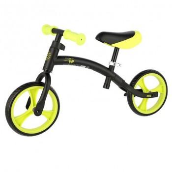 Ποδήλατο Ισορροπίας RB06 Μαύρο/Πράσινο BALANCE BIKE NILS FUN
