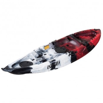 Fishing Kayak FORCE ANDARA SOT Ενός Ατόμου Κόκκινο