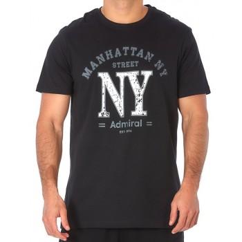 Admiral Ανδρικό T-Shirt Μπλουζάκι Manhattan