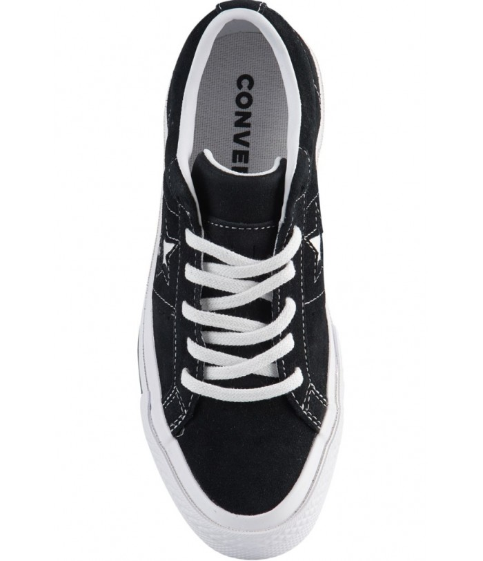 CONVERSE ONE STAR OX ΠΑΙΔΙΚΟ CASUAL ΠΑΠΟΥΤΣΙ ΜΑΥΡΟ