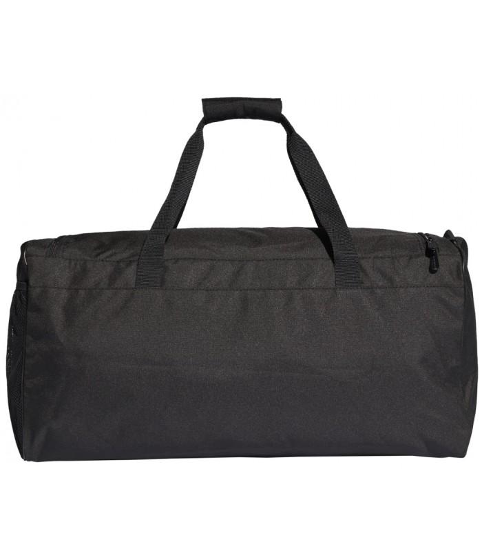 ADIDAS Linear Core Duffel Bag Medium ΤΣΑΝΤΑ ΤΑΞΙΔΙΟΥ ΜΑΥΡΗ ΜΕΣΑΙΑ