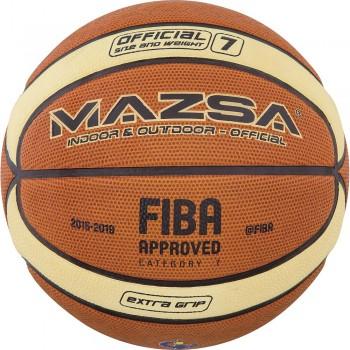 ΜΠΑΛΑ ΜΠΑΣΚΕΤ AMILA Cellular Rubber #7 FIBA Approved