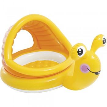 Πισίνα για μωρά με σκίαστρο Lazy Snail Shade Baby Pool