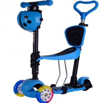 GC Πατίνι Παιδικό SC22BL 5 σε 1 Μπλε ME LED ΦΩΤΑΚΙΑ